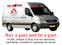 Help Adopt-A-Dog get our Tail Wagon!