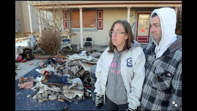 The Inskip Family, Devastated by Storm and Fire