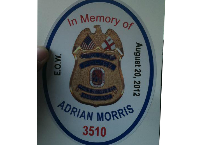 P/O Adrian Morris #3510 Fundraiser