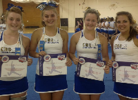 DONATE! CHS Cheerleaders National TV Appearance