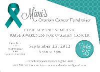 Mimi's Ovarian Cancer Fundraiser