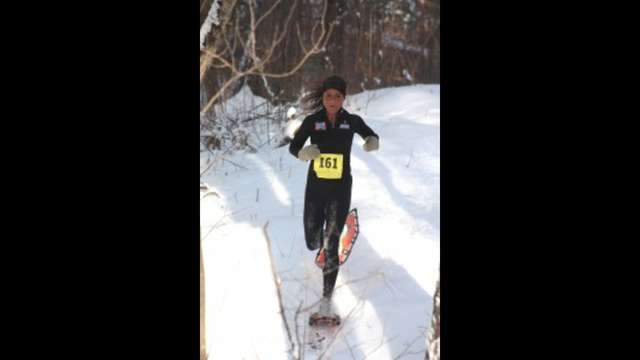 Support Jennifer Chaudoir-SnowShoe MotherRunner