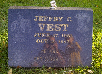 Jeff Vest Headstone Fundraiser