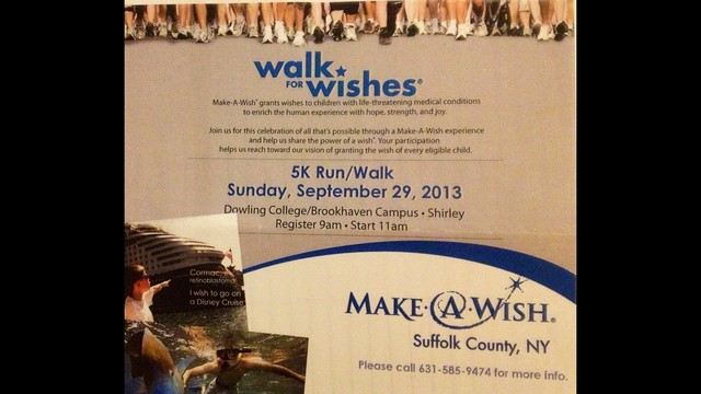 Make A Wish Foundation of Suffolk Co 5K Walk