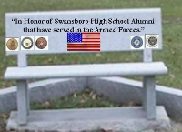 Swansboro High School Patriot's Bench