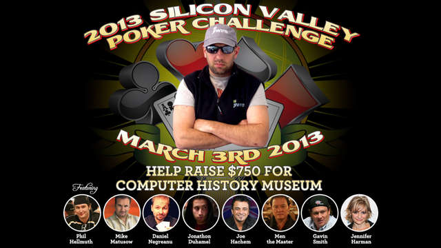 2013 Silicon Valley Poker Challenge charity event