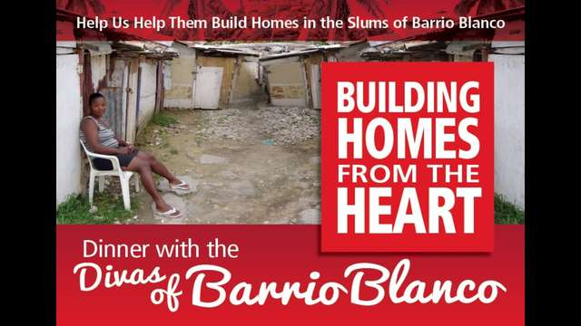 Building homes for the poor in slum Barrio Blanco
