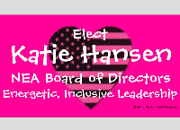 Elect Katie Hansen for NEA Board of Directors