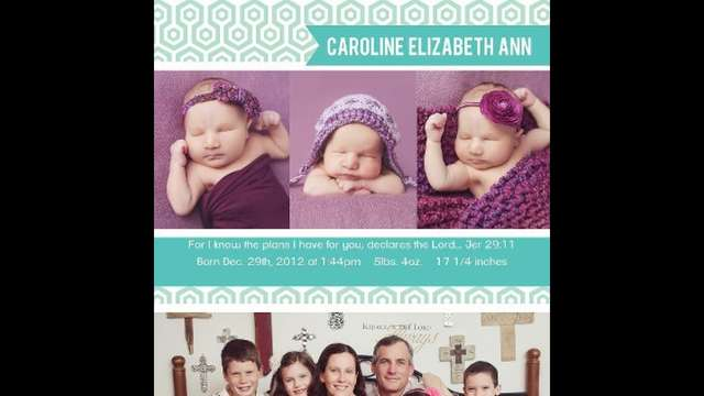 Baby Caroline Fund