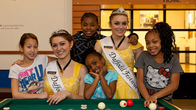 Help support the Daffodil Festival Royalty!
