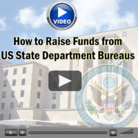 Webinar Video: How to Raise Funds from US State Department Bureaus