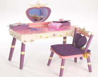 Princess Vanity Set