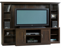 Entertainment Center Cinnamon Cherry