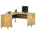 Bush Somerset L Shaped Corner Desk