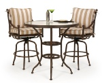 Santorini Aluminum Outdoor Bar Set - Outdoor Patio Furniture