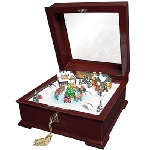 Deluxe Sleigh Music Box