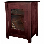 Crosley Entertainment Center Cabinet Cherry