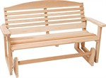 Great American Woodies 4 inch Classic Porch Glider