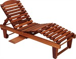 Adirondack Outdoor Chaise Lounge - Great American Woodies