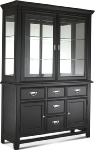 Klaussner Ashton Black Buffet & Hutch