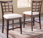 Klaussner Manhattan Cherry Counter Stool