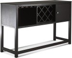 Klaussner Ringlet Dining Room Sideboard Dark Chocolate