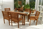 Milano 7 Piece Patio Outdoor Dining Set