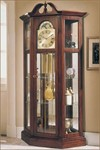 Richardson I Grandfather Curio Clock by Ridgeway