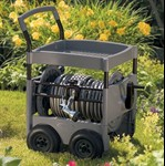Suncast Hose Reel Cart - Steel-Core