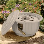 Decorative Hose Reel Pot - Suncast