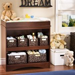 South Shore Baby Changing Table Royal Cherry