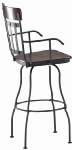 Trica Edward II Swivel Stool with Arms