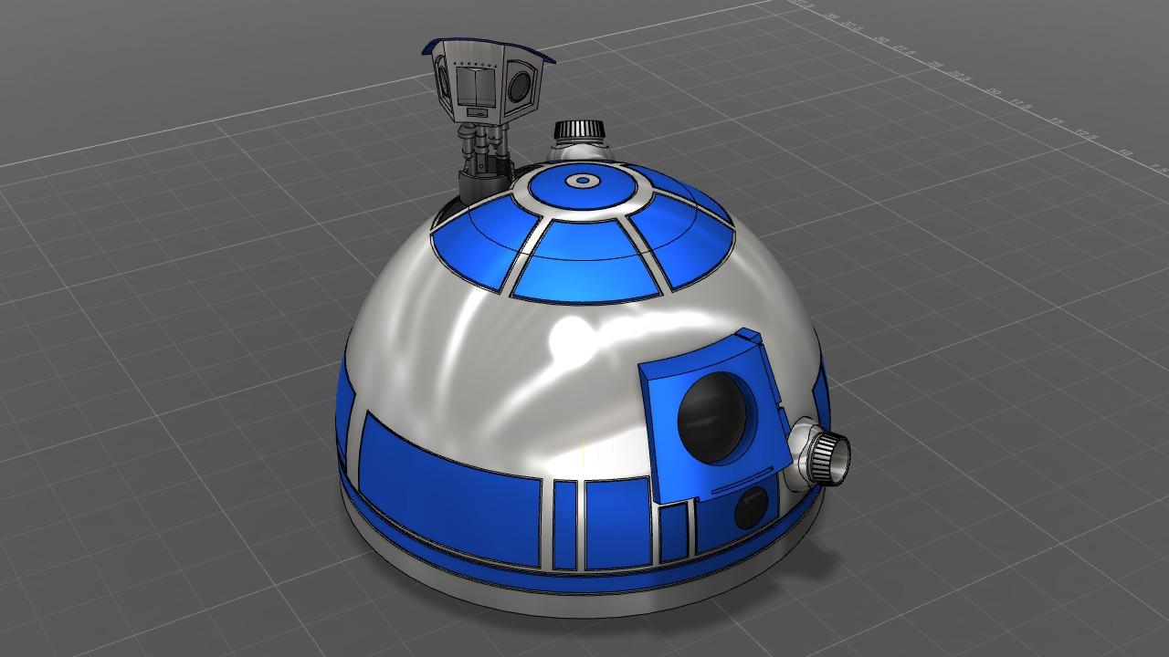 R2d2 360 View R2-D2 Dome | Au...