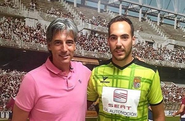 Jorge Cerdá Gómez, nuevo fichaje de la A.D. Torrejón C.F. para la temporada 2016/17