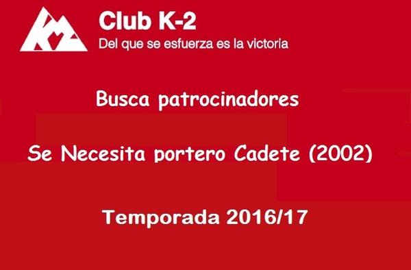 El Club K-2 de Majadahonda, puesta en marcha, plazas libres para jugadores y búsqueda de patrocinadores