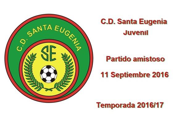 El C.D. Santa Eugenia Juvenil busca partido amistoso para el 11 de Septiembre de 2016 en campo contrario
