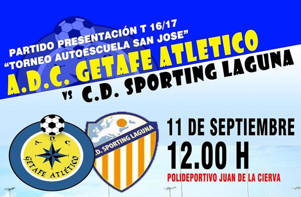 Torneo Autoescuela San José - Presentación del A.D.C. Getafe Atlético