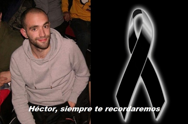 Luto en el fútbol madrileño por el fallecimiento de Héctor Tenorio, jugador del Racing San Blas CF