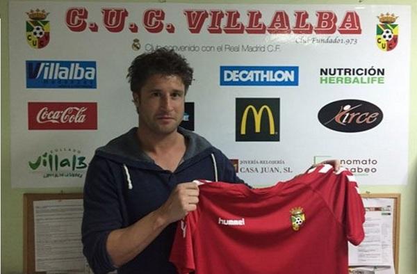 Veteranía en la delantera del C.U.C. Villalba con la llegada de Borja Lafuerza