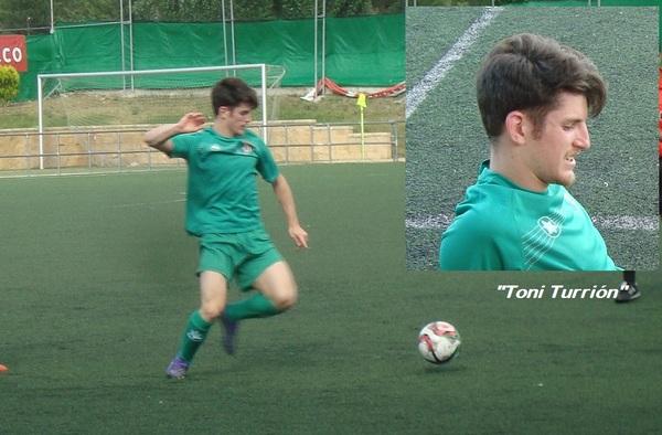 Toni Turrión sigue en el fútbol madrileño tras fichar por el C.D.C. Moscardó