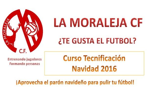 Campus de tecnificación de Navidad La Moraleja CF. (Del 27 al 30 de diciembre de 2016)