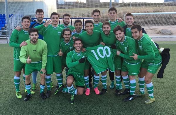 El C.D. Unión Valdebernardo consigue 100 goles en tan solo 13 partidos (Temporada 2016/17)