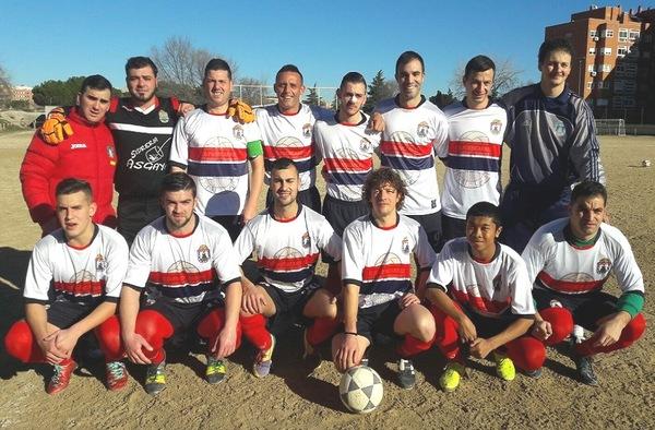 El C.D. Fuencarral lidera el grupo 3º de Tercera Regional tras 10 victorias consecutivas