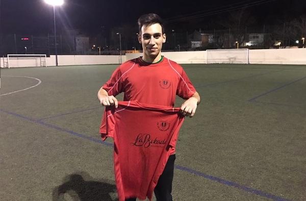 Álvaro Castillo, primer fichaje carmeniense en el mercado invernal  (Temporada 2016/17)