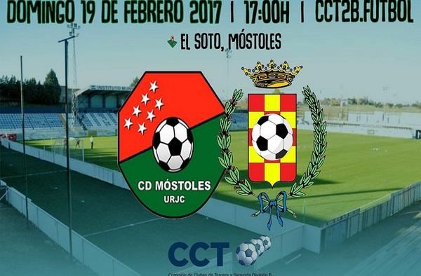 Móstoles-Pinto, duelo de estilos en un partido clave por el ascenso en CCT2B-TV