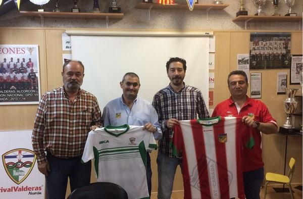 Renovado el acuerdo de filialidad entre Trival Valderas y Atlético Cañada para la temporada 2017/18