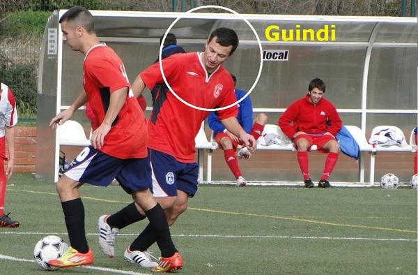 """Alberto Santaren """"Guindi"""", máximo goleador del C.D. Fuencarral, preparado para el partido ante el Valdeluz"""