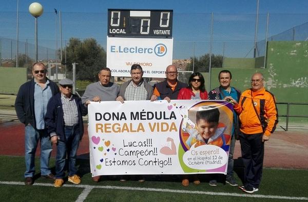 """El Inter de Valdemoro colabora en la campaña """"Dona Médula, Regala Vida"""", en apoyo del niño valdemoreño Lucas"""