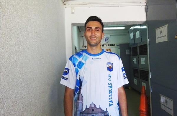 """Entrevista a Raúl Gordillo """"Canete"""", jugador del Vallecas C.F.  (Temporada 2016/17)"""