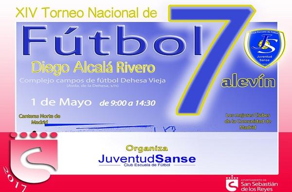 """XIV Torneo Nacional de Fútbol 7 Alevín """"Diego Alcalá"""" en San Sebastián de los Reyes"""